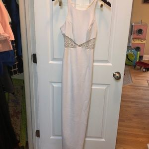 White Cache bridal/prom dress size 2/4